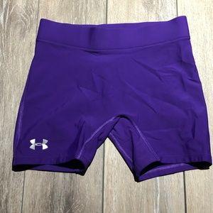 Under Amour purple women shorts size SM\P